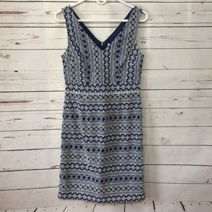 Boden embroidered dress NWT